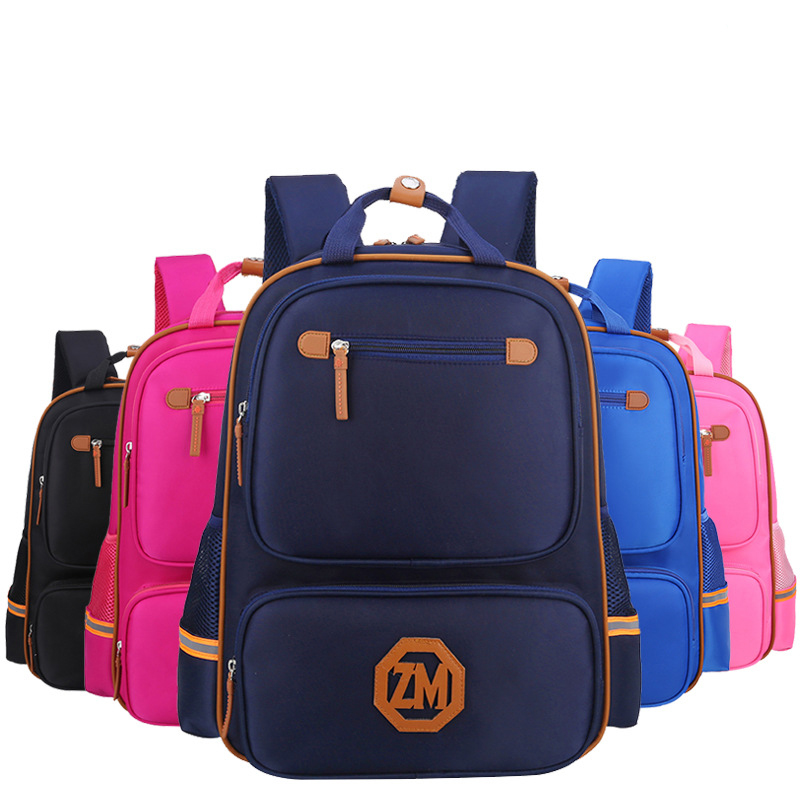 2017fashion orthopedic kids backpack cute high quality school bags in primary school for girl boys children