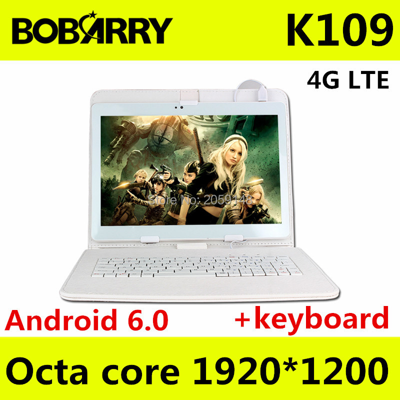 Tablet pc 10 1 inch K109 4G LTE Android 6 0 tablet pc octa core 4GB