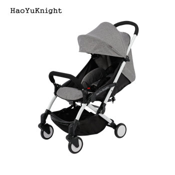 Hao YuKnight baby stroller Ultra-light folding carrier baby carriage shock absorbers stroller baby stroller minnie mickey       1