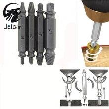 Jelbo Screws Remove Demolition Tools Screw Extractor Drill Bit Set Kit Drill Bit Power Tools Accessories Screw Extractor