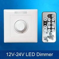 LED dimmer telecomando a raggi infrarossi dimmer DC12-V LED dimmer interruttore Controllo di Luminosità Regolabile
