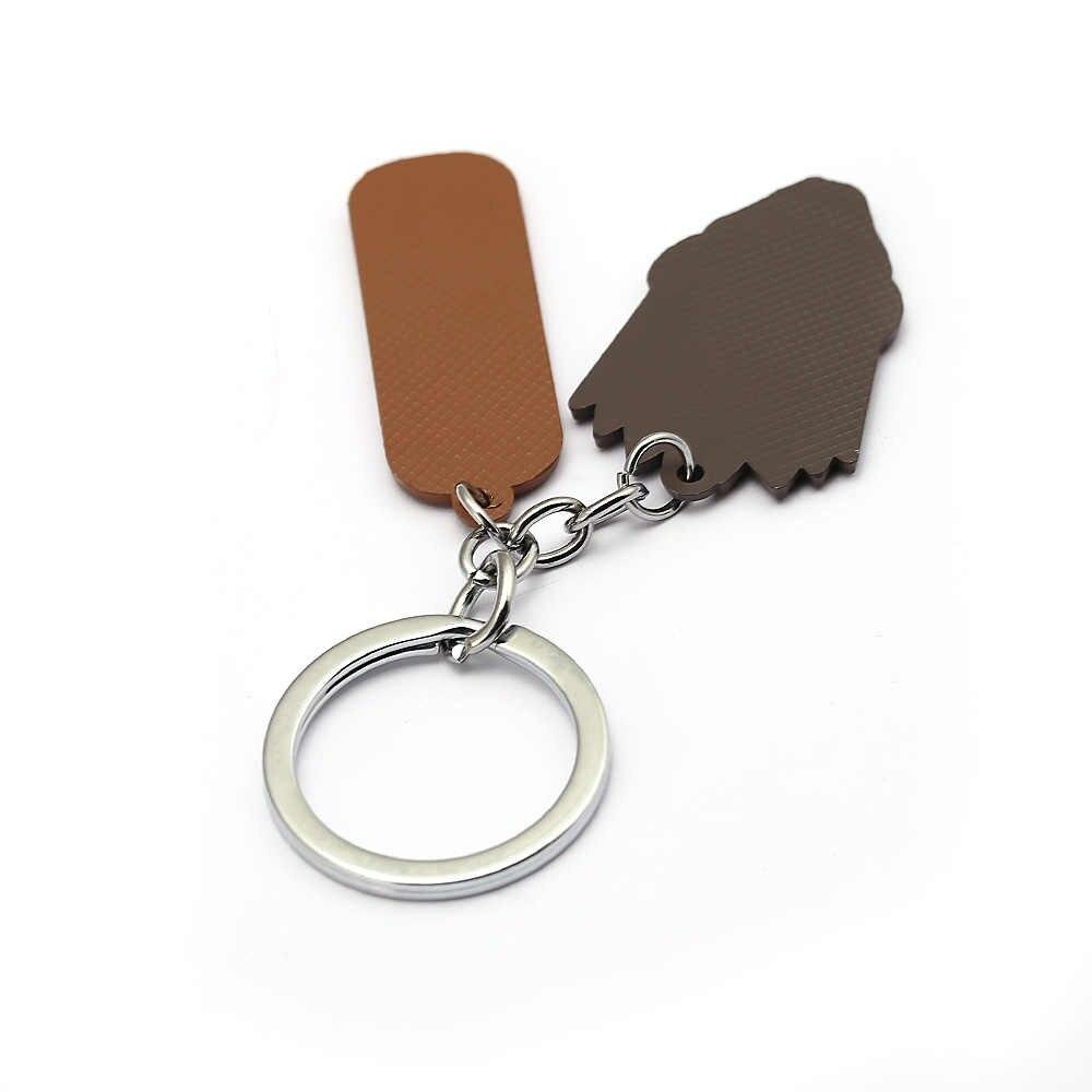 Охотник х Охотник ювелирный брелок очки мальчик геометрический состояние мужчины t женщины сумка мужчины автомобильный брелок периферийный держатель ключей