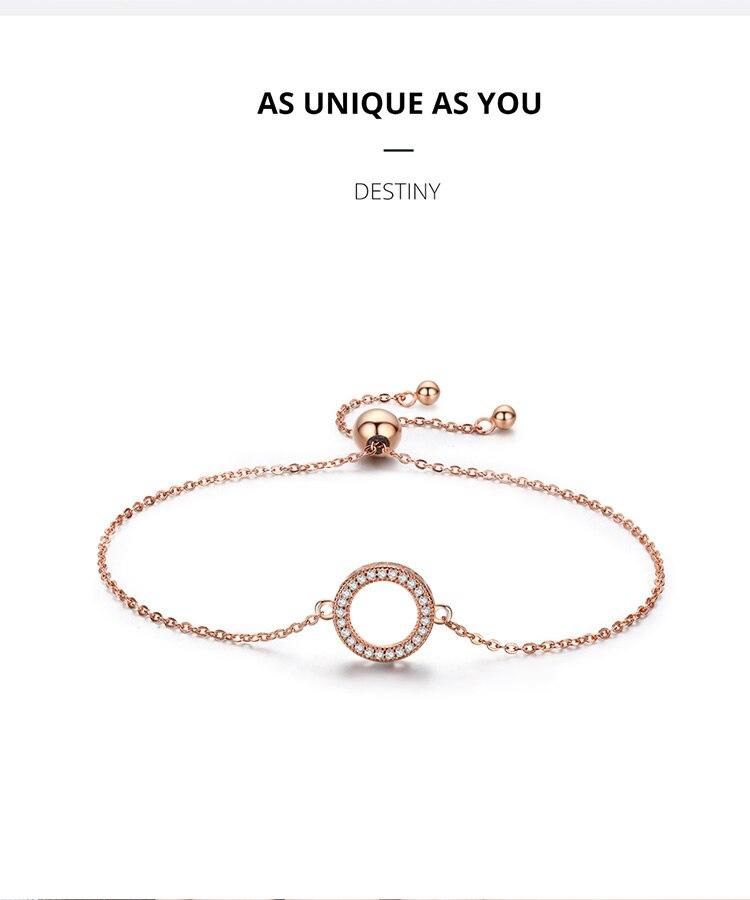 HTB1bMdBaF67gK0jSZPfq6yhhFXa9 BAMOER Trendy 925 Sterling Silver Glittering Round Circle Chain Link Strand Bracelets for Women Sterling Silver Jewelry SCB030