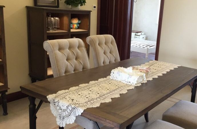 Pleasant Us 16 0 90 150 180 250Cm Shabby Chic Cottage Crocheted Vintage Table Runner In Table Runners From Home Garden On Aliexpress Com Alibaba Group Download Free Architecture Designs Remcamadebymaigaardcom