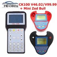 CK100 Key Programmer CK 100 V99.99/46.02/MINI ZED BULL OBD2 Diagnostic Tool Car Fault Reader Auto Code Scanner No Tokens limited