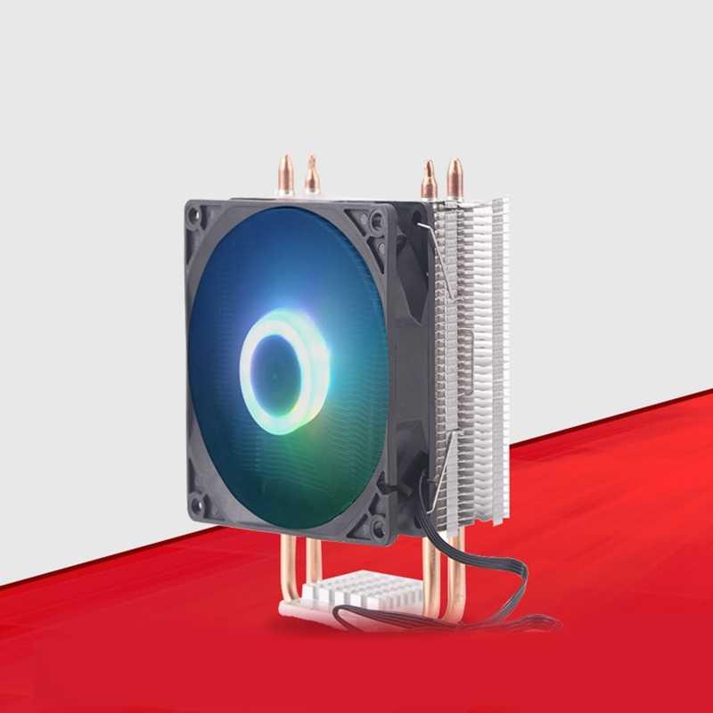 9Cm 3 Pipa Panas 4 Pin Kipas Tunggal Tanpa Cahaya CPU Fan Cpu Heatsink untuk Intel 775/1150 /1155/1156/1366 untuk ADM Semua