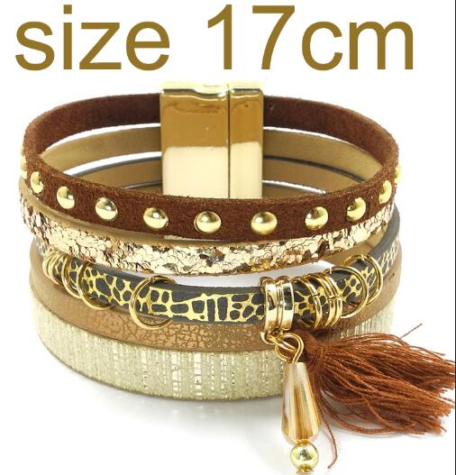 brown size 17CM