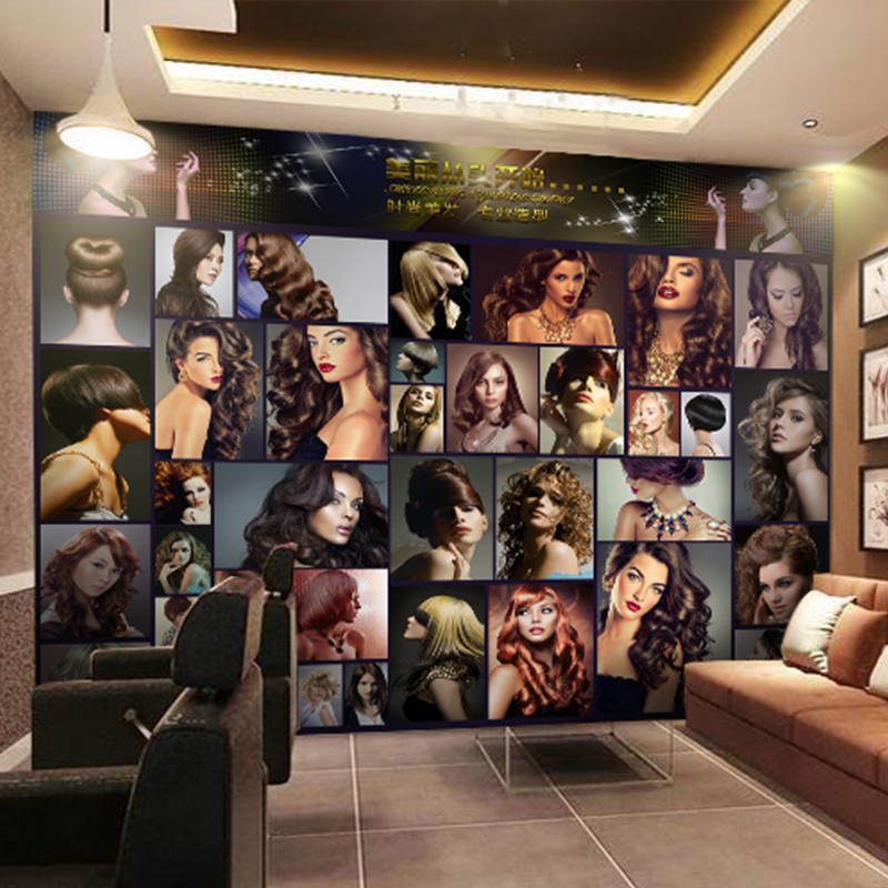 Custom Mural Sexy Fashion Beauty KTV Beauty Salon Manicure