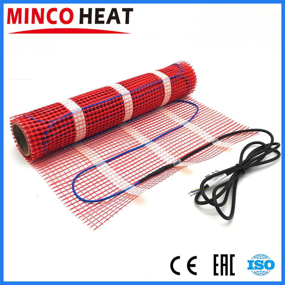 MINCO HEAT 0.5 1.5 2.5 3.5 4.5 Square Meters 220V Safe And Confortable Under Floor Tiles Heating System 50cm Width Warm Mat