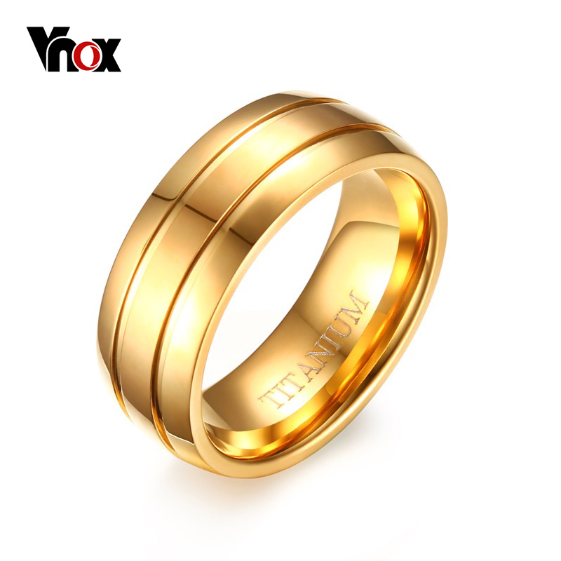 Vnox Pure Titanium Ring Men Jewelry 8mm Black Titanium Ring Matte Finish US Size 9 10 11 12 equte rssm35c2s11 316l titanium steel finger ring for men black silver us size 11