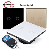 Minitiger eu uk standard unique firewire touch sensing wall switch touch switch 2 gang 1 way.jpg 200x200