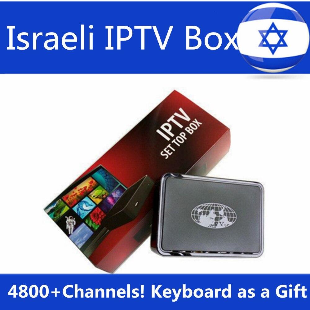 Israel IPTV Box Hebrew Europe IPTV MAG254 Arabic IPTV Box USB WiFi Free Linux System Linux