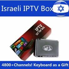 Израиль iptv поле иврит Европа IPTV MAG254 арабский IPTV коробка + USB Wi-Fi Бесплатная Linux Системы Linux 2.6.23 STiH207 Mag 254 Декодер каналов кабельного телевидения