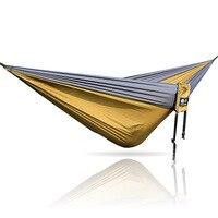 Nylon parachute hammock bed hammock camping chair swing
