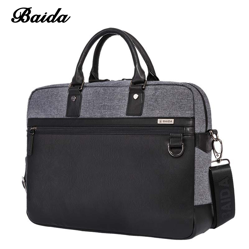 NEW DESIGN BRIEFCASE HIGH QUALITU CROSS BODY BAG DRESS BUSINESS BAG FOR TRAVEL MALE OR FEMALE HANDBAG CLASSIC SHOULDER BAG wire man bag 2017 handbag male shoulder bag cross body bag commercial document bag