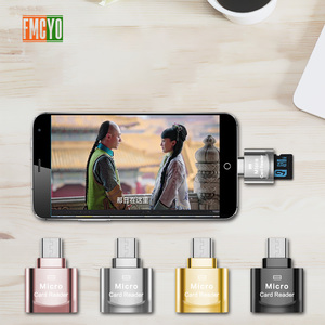 Image 5 - Mini Micro USB Android Teléfono TF lector de tarjeta de memoria OTG expansión de la Memoria SD externa