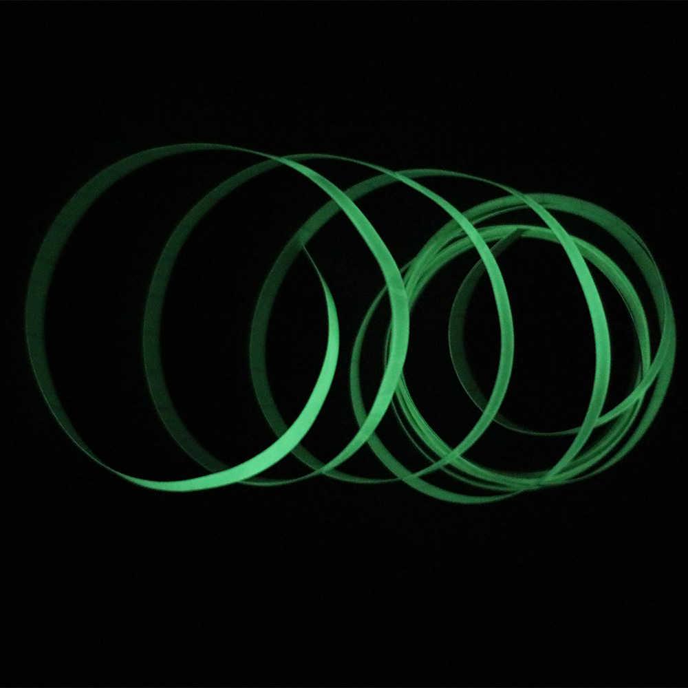 Pita Reflektif Stiker Mobil Lucu Stiker DIY Lampu Bercahaya Peringatan Glow Gelap Malam Kaset-kaset Stiker Safety Car-Meliputi Aksesoris