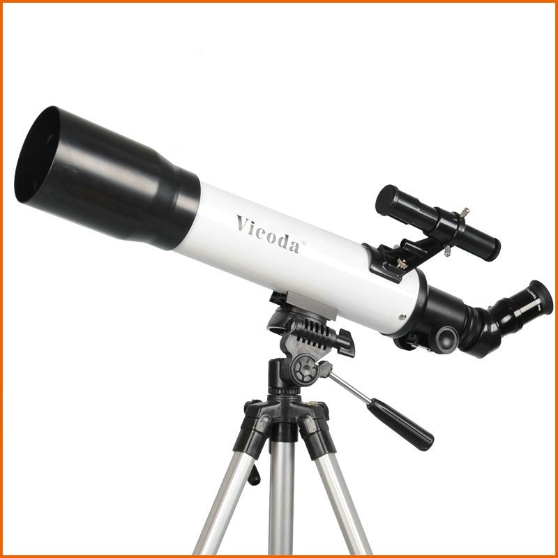 Student Refraction Astronomical Telescope Entry Level HD High Quality Configuration PL Eyepiece with Portable Soft Bag entry level 3 inches 76 700mm reflector newtonian astronomical telescope black white