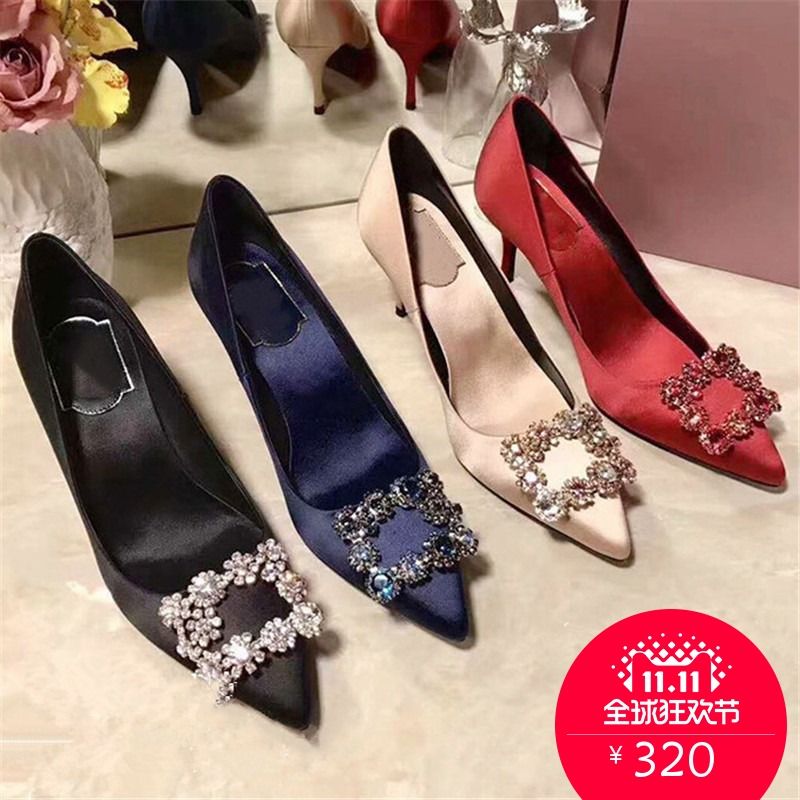 tian Women Pumps, High Heels Shoes 10cm Stiletto Pointed Toe Woman Shoes Sexy Party Shoes Nude Heels for Women Plus Size 5 10