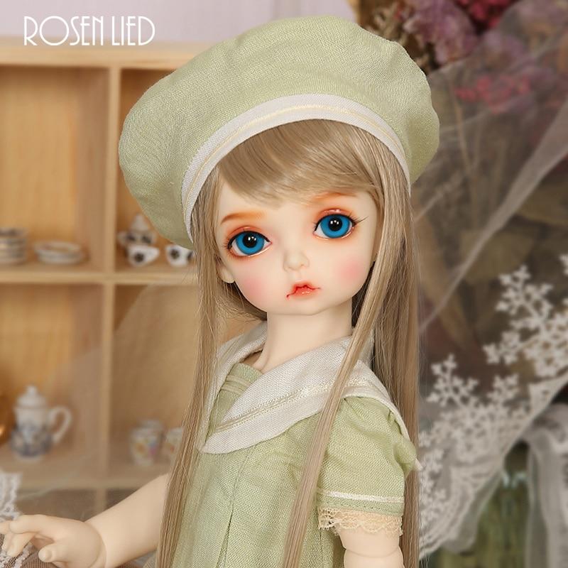 все цены на Rosenlied RL Holiday peanut bjd sd doll 1/4 body model boys or girls doll oueneifs High Quality resin toys free eye beads shop онлайн