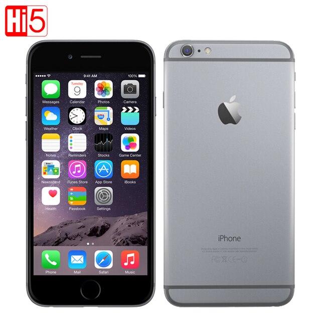 "Original Apple iPhone 6 Brand Plus 4.7 & 5.5"" mobile phone Dual Core 64GB/128GB Rom IOS 8MP Camera 4K video LTE 1 Year Warranty"