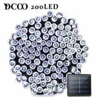Dcoo LED Solar Licht 72ft 22 meter 200 LED 8 Modi Tuinverlichting Garten Licht Led Solar Lampe Garten Beleuchtung Solar lampe Im Freien