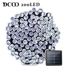 Dcoo LED Solar Light 72ft 22meter 200 8 Modes Tuinverlichting Garden Led Lamp Lighting Outdoor