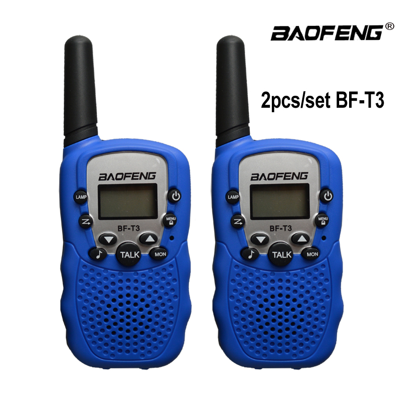 2Pcs Baofeng BF-T3 UHF462-467MHz 8 Channel Portable Two-Way 10 Call Tones Radio Transceiver For Kids Radio Kid Walkie Talkie(China)