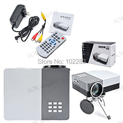 Home Cinema Theater Multimedia Led Lcd Projector Hd 1080p: Mini Multimedia Portable LCD LED Video Game HOME Cinema
