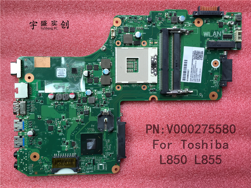 Free Shipping New for Toshiba Satellite L850 L855 Motherboard V000275580 6050A2541801 Warranty 90 Days