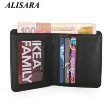 Hommes portefeuille de luxe marque véritable cuir de vachette mini porte-monnaie petit Sac D'argent mâle embrayage Femelle Mince poche Porte-Cartes