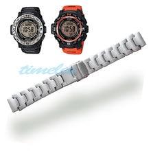 Ремешок из нержавеющей стали для часов CASIO PRG-250, PRG-510, PRW-3500, PRW-5000, PRG-260T, PAW-2500T