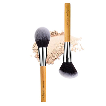 vela.yue Large Powder Brush Synthetic Vegan Face Cheeks Minieral Loose Powder Blusher Bronzer Highlight Contour Makeup Tool 1