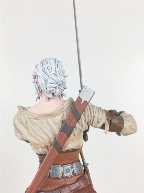 The Witcher 3 - Wild Hunt: Ciri Figure Dark Horse The Witcher PVC Game Figure Collection Model Toy 2
