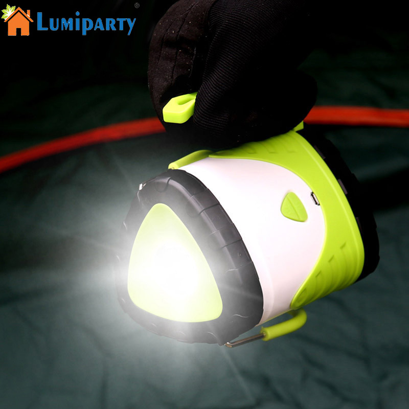 LumiParty LED Shape Changeable Camping Light Outdoor Tent Light Portable Hand Lamp