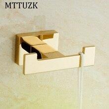 Mttuzk Золотой/хром квадратный Одежда Крючки Кухня крючки Гостиная стене висит двери сзади крючок для крышки, пальто, одежда, банное полотенце