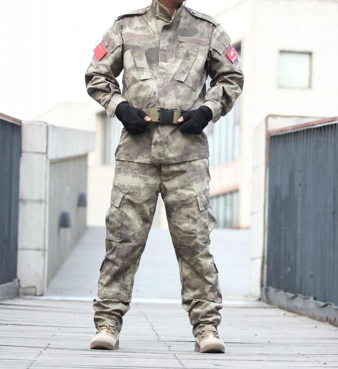 A tacs FG military Combat A tacs bdu military for hunting Wargame,COAT+PANTS