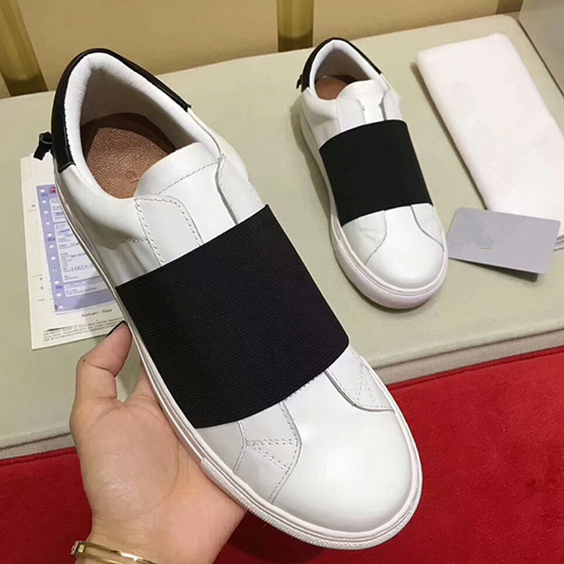 Zapatos Tenis Scarpe Slip Feminino New Picture As De Hot 2019 Pelle Wedge Sneakers Picture Femminile Causale as Mujer Top Piattaforma Grosso Donna Della In On Low REFWqwY
