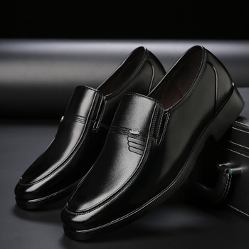 Luxury Brand Men Leather Formal Business Shoes Male Office Work Flat Shoes Oxford Breathable Party Wedding Anniversary Shoes 1