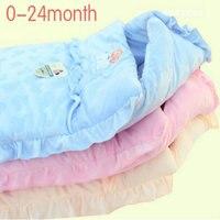 Engrosamiento de terciopelo bebé saco de dormir recién nacido tiene a bebé parisarc saco de dormir cómodo doble invierno