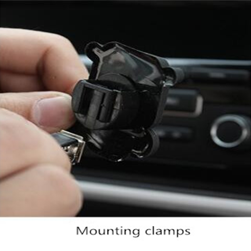 Pink Dot Style The Car Air Conditioning Tuyere Perfume Clip 2 Kinds Of Aroma Cottons in Air Freshener from Automobiles Motorcycles