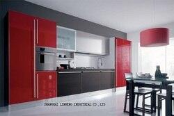 Лаковый кухонный шкаф (LH-LA003)