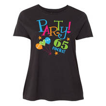 Cotton Cool Design 3D Tee Shirts Premium Crew Neck Short Sleeve 65Th Birthday Party  Womens Tee Shirts 3d tie dyed crew neck tee