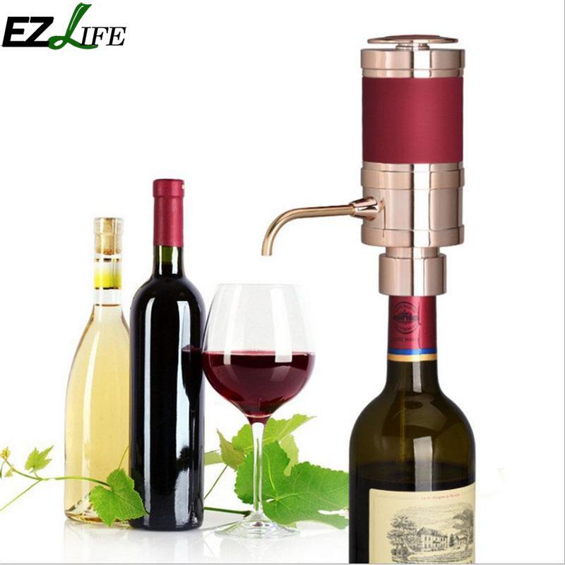 EZLIFE Électrique Intelligent Vin Aérateur Rapide Décanteur Magique Aérateur Verseur Decanter Auto Decanter Vin Distributeur Accessoires CFA9439