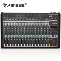 MX 1602 Professional audio 16 channel input 48V USB interface Bluetooth mixer 16 DSP digital stage equipment