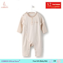 COBROO Newborn Clothes 0-12 Month Long-Sleeve Infant Cotton