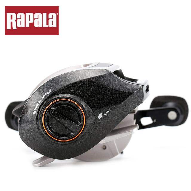 Original Rapala Brand Shift ST150RH ST150LH baitcasting reel 13+1BB 6.5:1 175g aluminum body Carp Fishing Reel