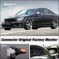 Камеры автомобиля Соединение Заводской Экран/Монитор Для Mercedes-Benz MB W204 C Class Высокое Качество Заднего Вида Резервное Копирование Камеры