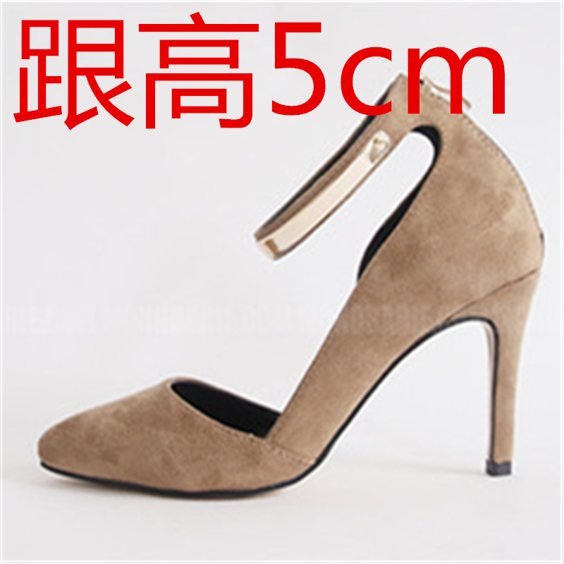 ФОТО Women's shoes pointed toe high heels thin small 30 31 32 33 plus size 40 41 42 43 44 single shoes free shipping