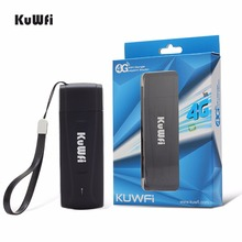 100Mbps LTE USB Wireless Router 4G/3G/2G WIFI Router Network Hotspot 4G Mobile Wifi Dongle LTE Modem With SIM Card Slot kuwfi 4g lte wifi router mini portable 4g dongle car wireless wi fi router 4g lte usb car modem router with sim card slot